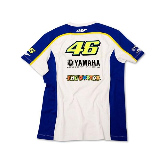 【US YAMAHA】2013 Yamaha   Factory 競賽 46 T恤 by VR/46(R) - 「Webike-摩托百貨」
