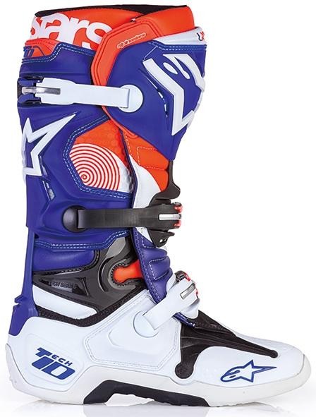 【alpinestars】TECH10 INDIANAPOLIS LE  越野車靴 - 「Webike-摩托百貨」