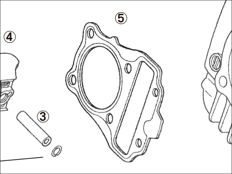 【ENDURANCE】5.修補用零件 CUB系 加大缸徑套件 汽缸頭墊片 - 「Webike-摩托百貨」