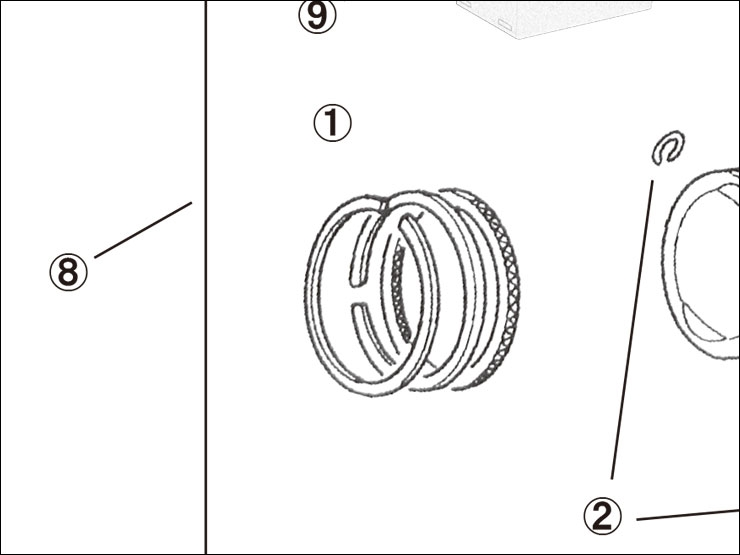 【ENDURANCE】1.修補用零件 CUB系 加大缸徑套件 活塞環 - 「Webike-摩托百貨」