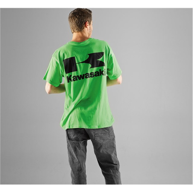 【US KAWASAKI】Stacked Logo T恤 - 「Webike-摩托百貨」