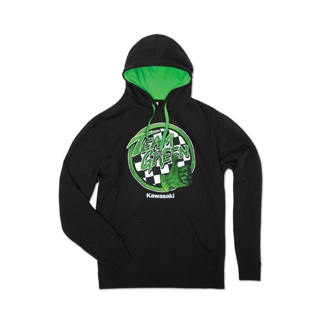 【US KAWASAKI】Team Green(TM) 帽T - 「Webike-摩托百貨」