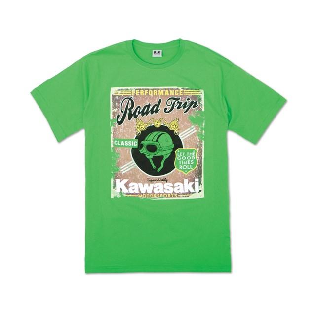 【US KAWASAKI】Road Trip T恤 - 「Webike-摩托百貨」