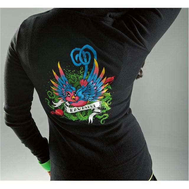【US KAWASAKI】女用 Tweet 連帽運動外套 - 「Webike-摩托百貨」