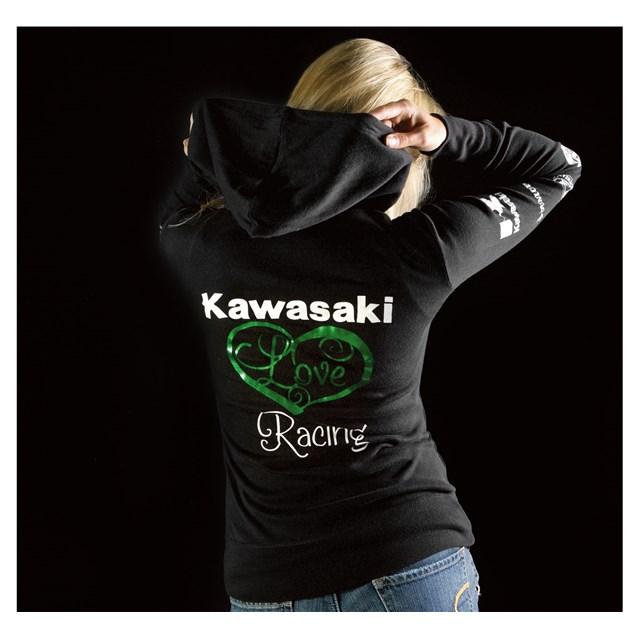 【US KAWASAKI】女用 Race Love Racing 運動外套 - 「Webike-摩托百貨」