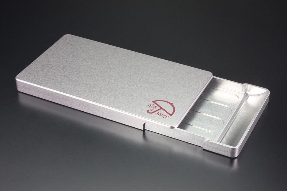 【GILD design】硬質鋁合金切削加工名片盒 - 「Webike-摩托百貨」