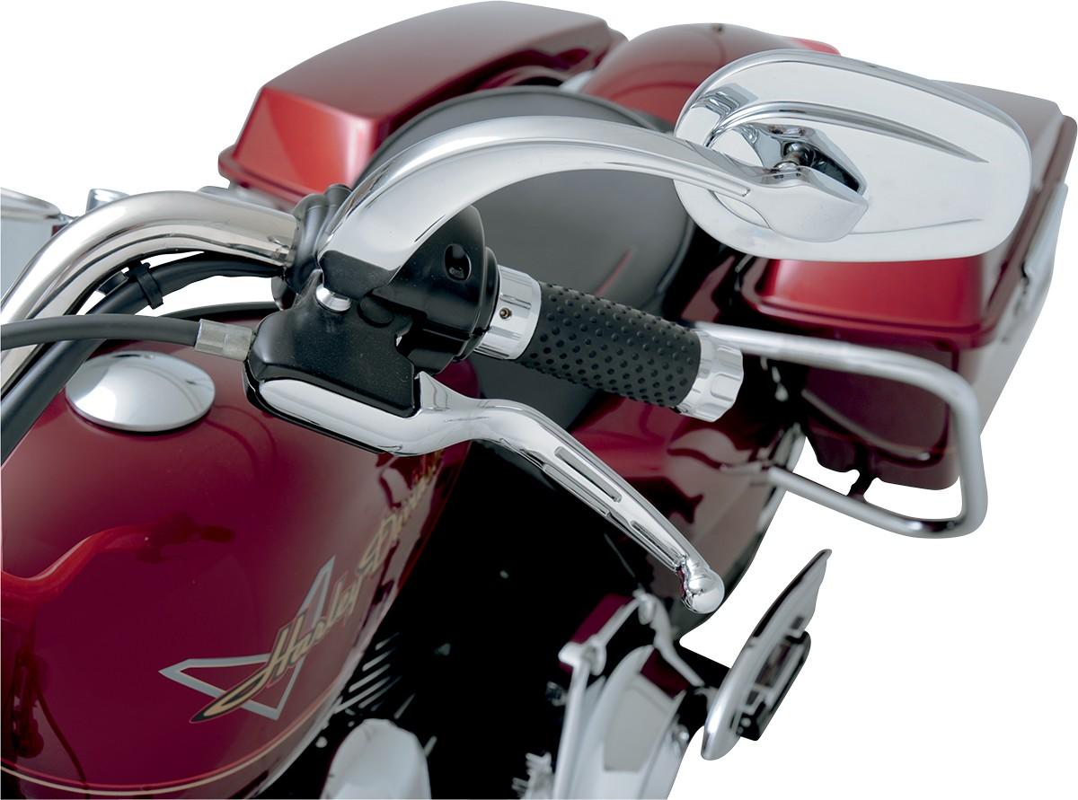 Chrome RWD-50046CL Russ Wernimont Designs Contoured Convex Mirrors Left