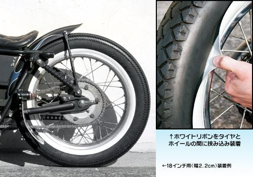 【NitroHeads】18吋胎專用裝飾白邊 - 「Webike-摩托百貨」