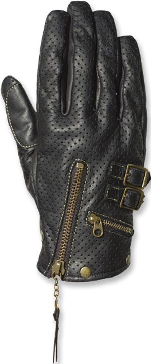 【FREE×FREE】女用打孔皮革手套 - 「Webike-摩托百貨」