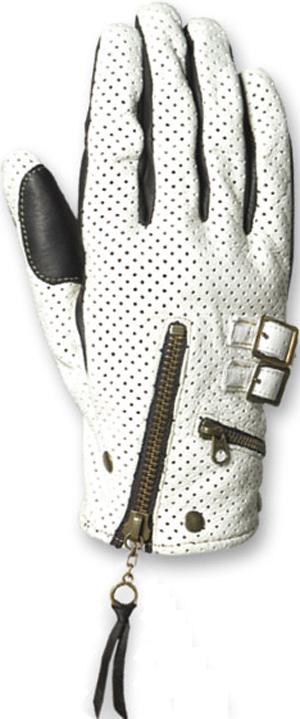 【FREE×FREE】男用打孔皮革手套 - 「Webike-摩托百貨」