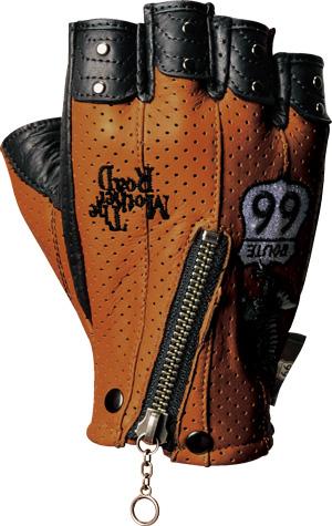 【ROUTE 66】半指皮革防摔手套 - 「Webike-摩托百貨」