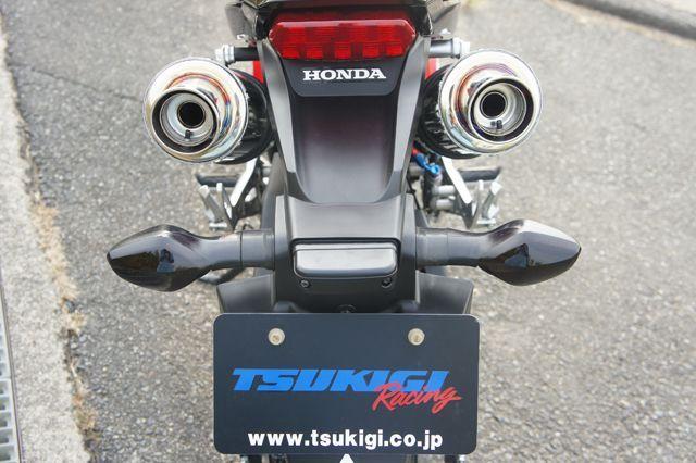 【月木RACING】TR mini二輪 雙管全段排氣管 - 「Webike-摩托百貨」