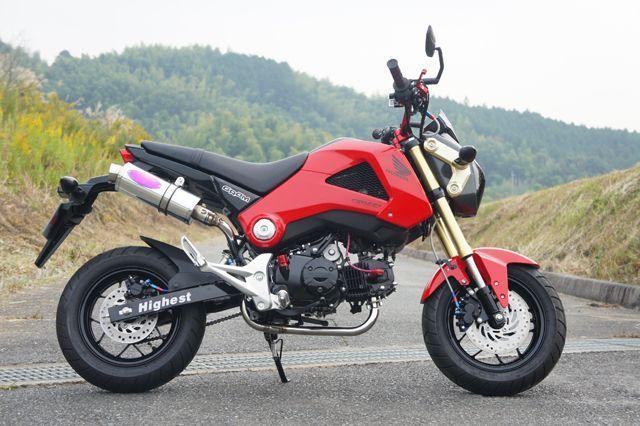 【月木RACING】TR mini二輪 單管全段排氣管 - 「Webike-摩托百貨」