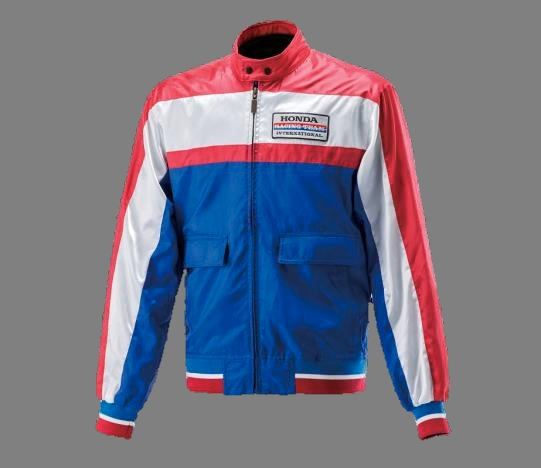 [HONDA 80`s Mount] Tri-color Blouson