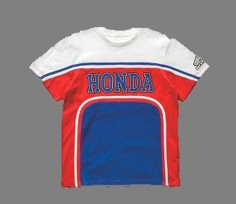 [HONDA 80`s Mount] Tri-color T-shirt SP