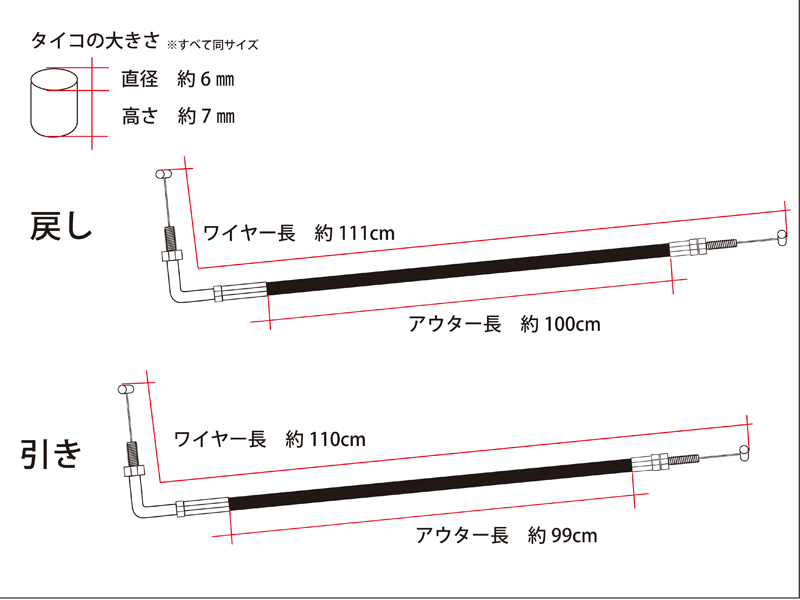 【DOREMI COLLECTION】油門線 標準型 - 「Webike-摩托百貨」