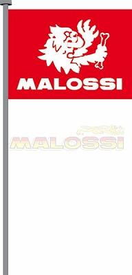 【MALOSSI】旗子 98X135cm 紅底/白字 - 「Webike-摩托百貨」