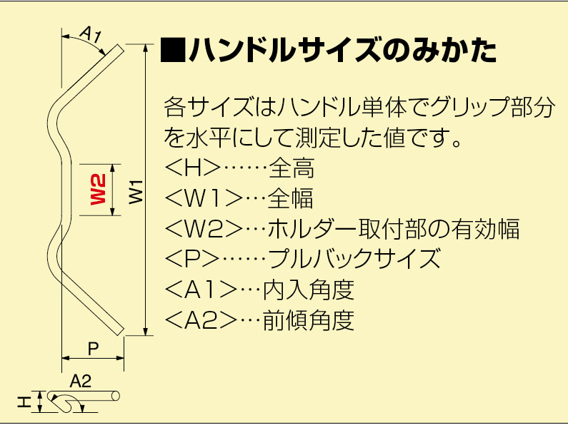【HURRICANE】Tracker Special 把手組 (附中央橫桿) - 「Webike-摩托百貨」