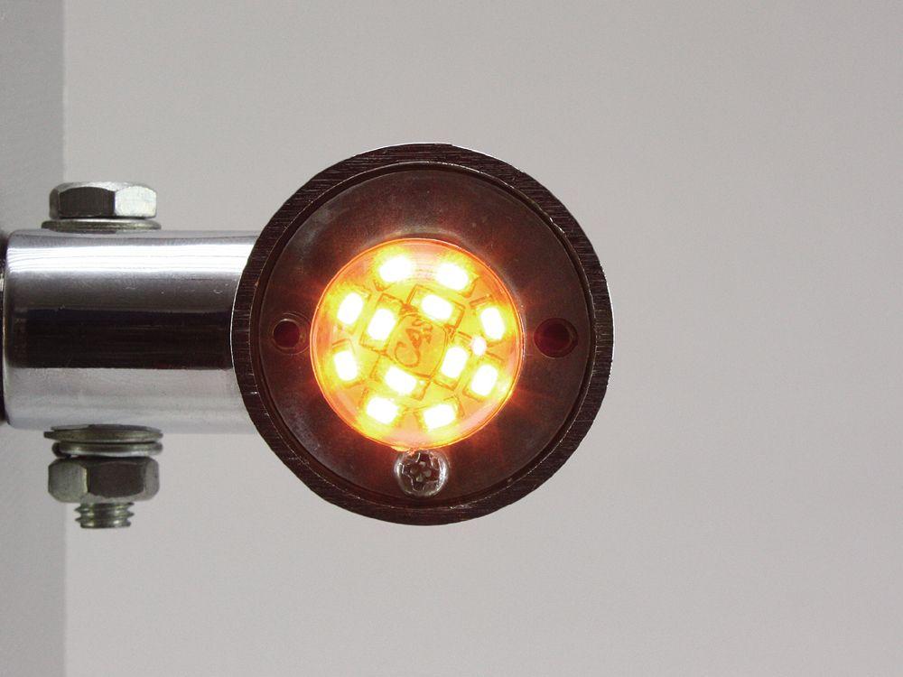 【HURRICANE】橘色 LED 燈泡型 - 「Webike-摩托百貨」
