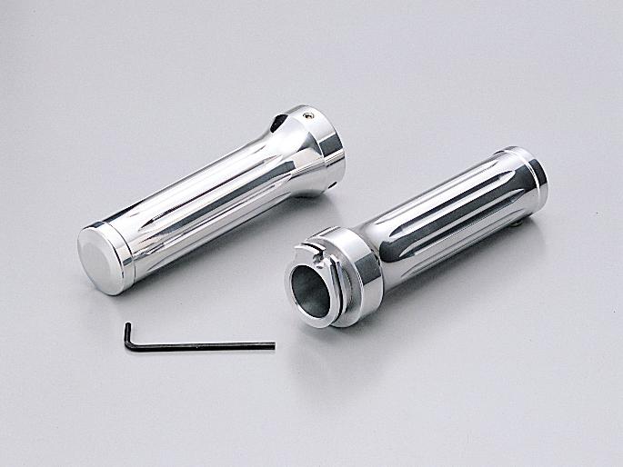 【HURRICANE】鋁合金握把套(切削加工) - 「Webike-摩托百貨」