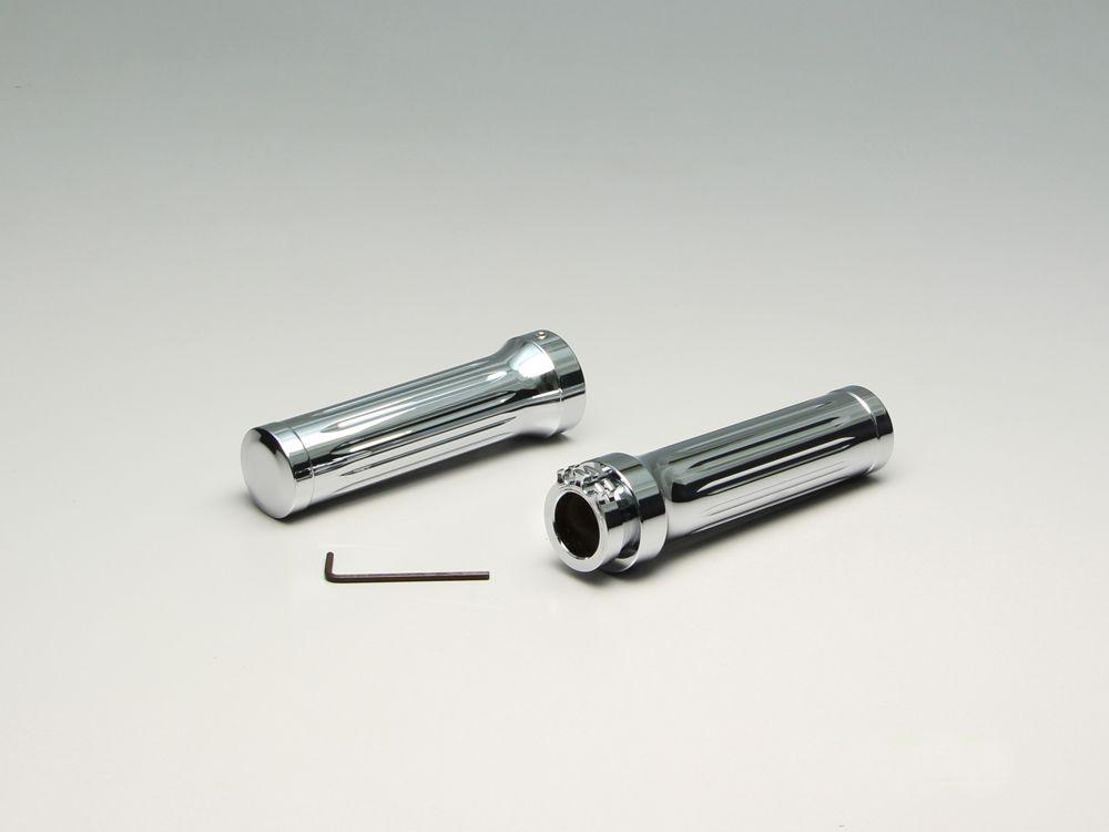 【HURRICANE】鋁合金握把套 切削加工 - 「Webike-摩托百貨」