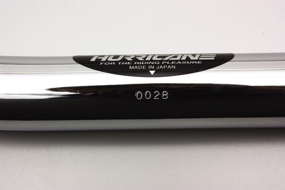 【HURRICANE】Straight Φ7/ 8吋 鋼製把手 - 「Webike-摩托百貨」