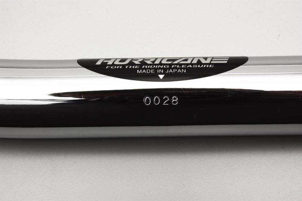 【HURRICANE】Flat Continental Type 1 Φ 7/8 吋 鋼製把手 - 「Webike-摩托百貨」