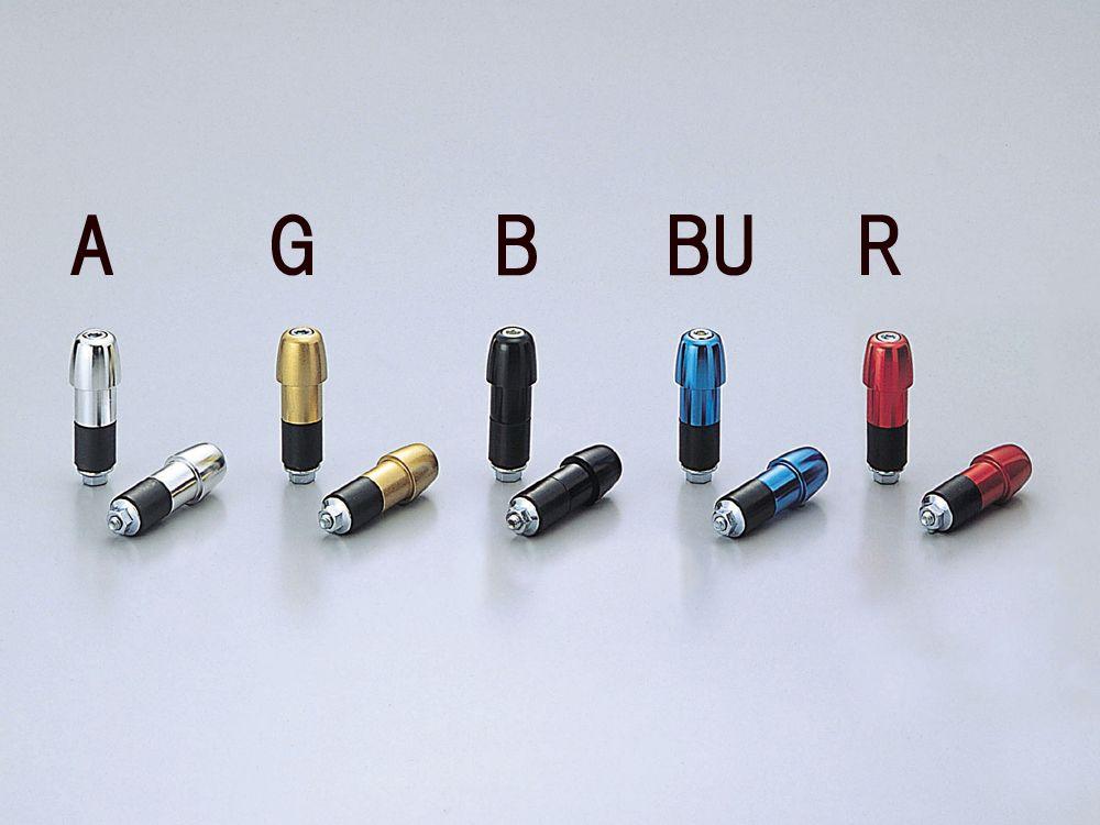 【HURRICANE】Φ22砲彈型鋁合金把手端子 - 「Webike-摩托百貨」