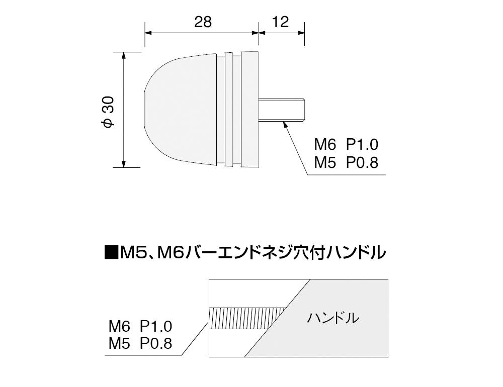 【HURRICANE】Φ30 砲彈型鋁合金把手端子 - 「Webike-摩托百貨」