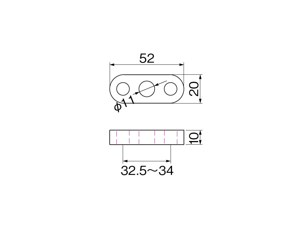 【HURRICANE】把手座間隙墊片T10 - 「Webike-摩托百貨」