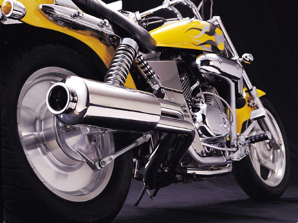 【HURRICANE】Drag Exhaust Version Z 全段排氣管 - 「Webike-摩托百貨」