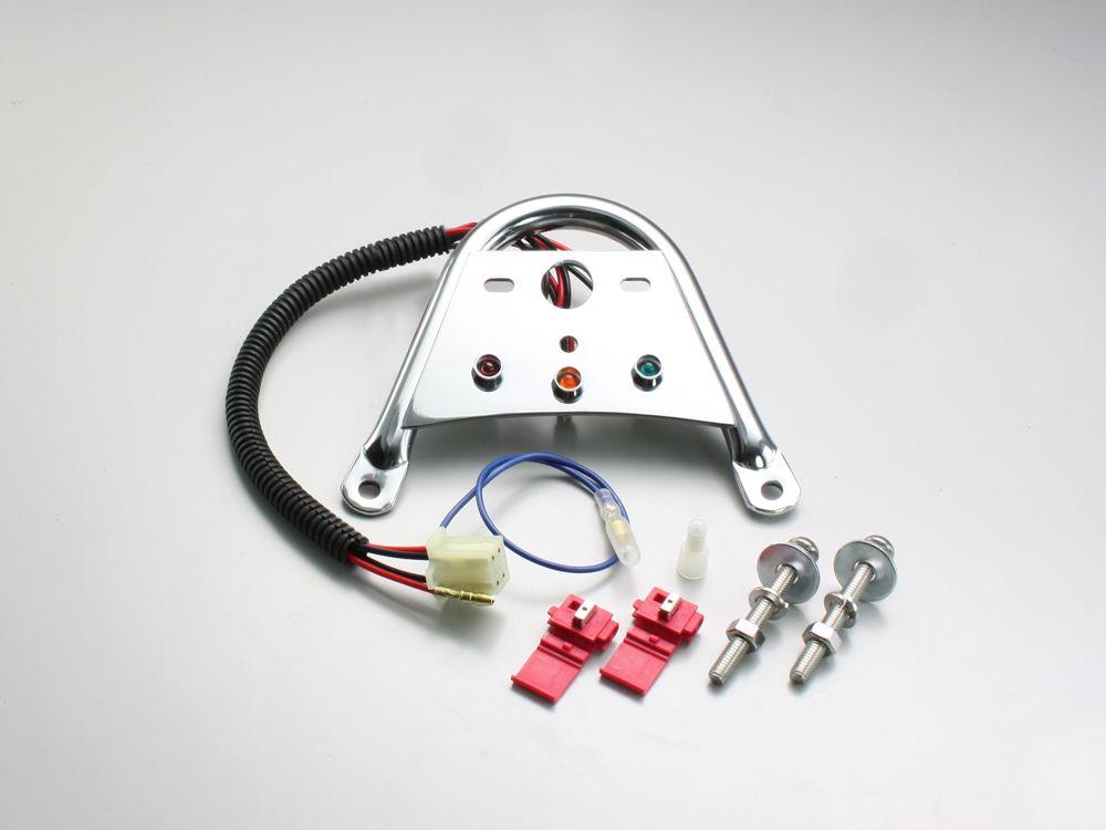 【HURRICANE】儀錶支架 (圓管型) - 「Webike-摩托百貨」