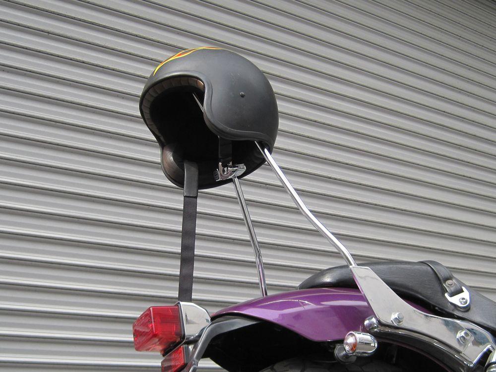 【HURRICANE】安全帽鎖後座靠背安裝支架 - 「Webike-摩托百貨」