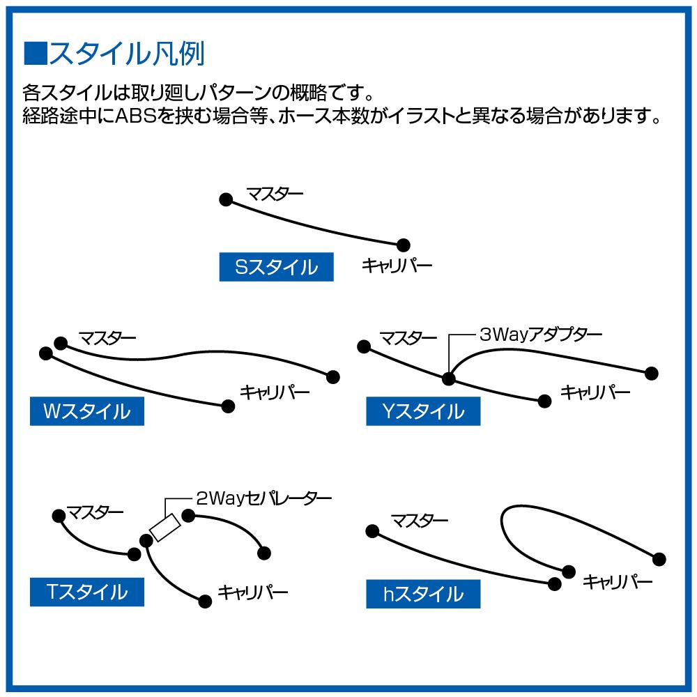 【SWAGE-LINE】Swage line 高級前煞車油管套件 - 「Webike-摩托百貨」