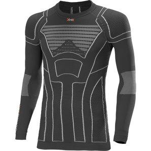 【X-Bionic】MOTOLIGHT 長袖衫,黑色/灰色 - 「Webike-摩托百貨」