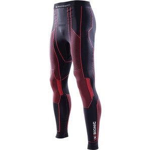 【X-Bionic】MOTO 男用 內穿長褲,冬季,黑色/紅色 - 「Webike-摩托百貨」