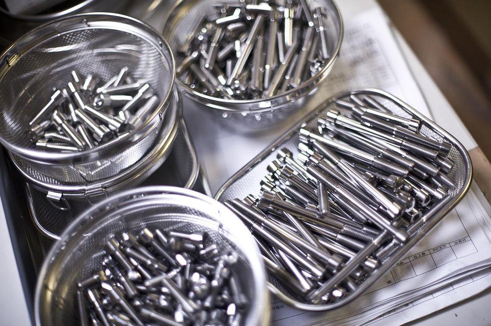 βTITANIUM ベータチタニウム βチタニウム:マスターシリンダー 取付チタンボルトキット リーフグリーン