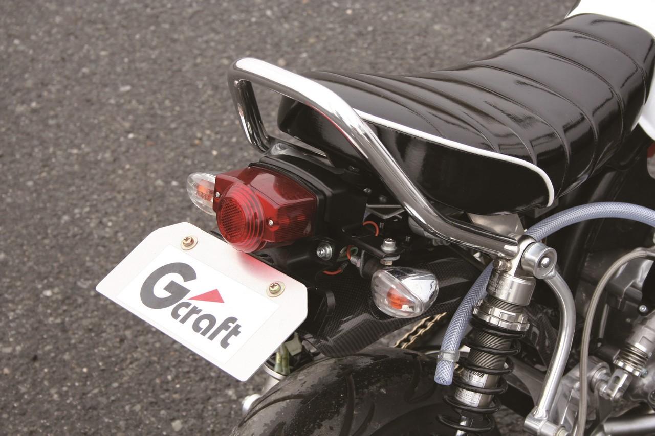 【G-Craft】Monkey專用後扶手(長版) - 「Webike-摩托百貨」