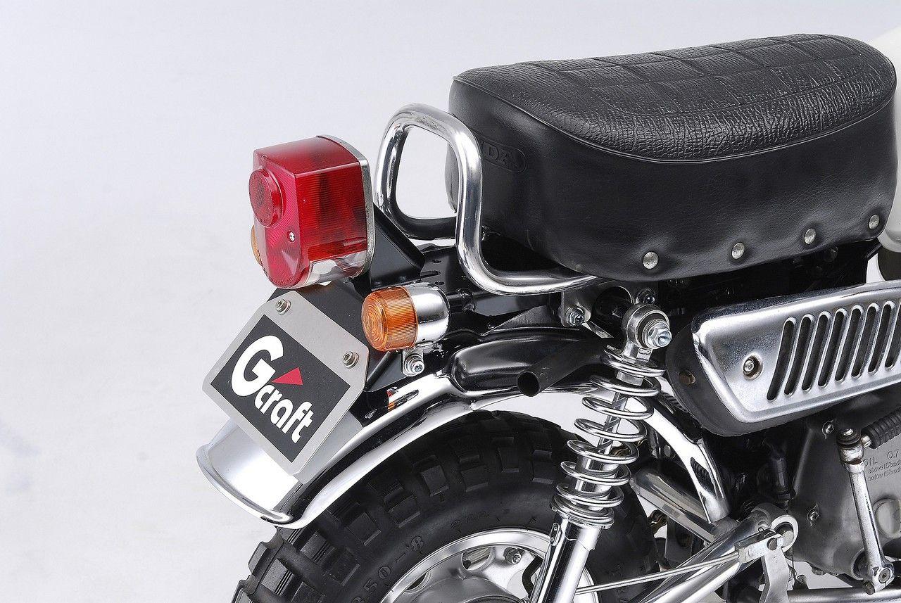 【G-Craft】4L Monkey專用原廠型坐墊用後扶手 - 「Webike-摩托百貨」