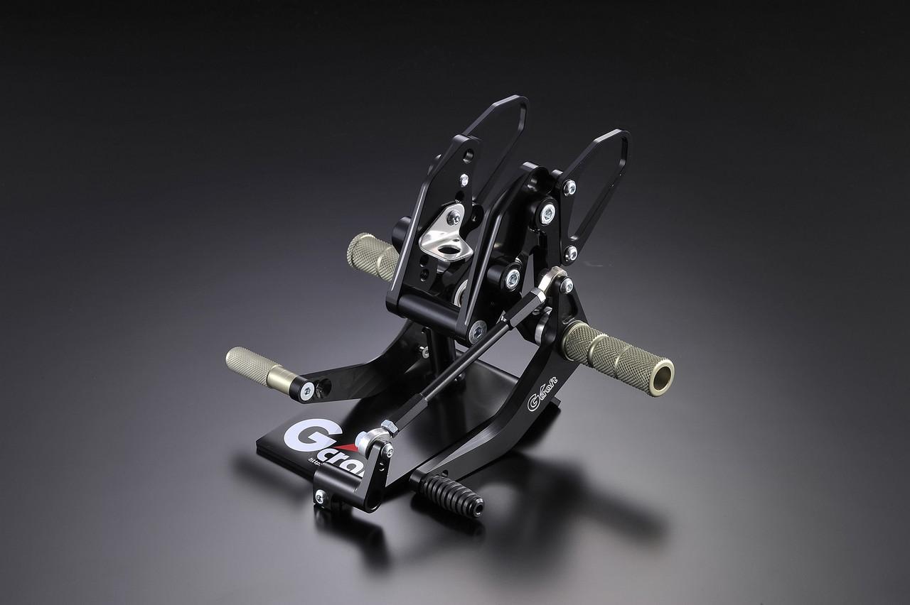 【G-Craft】3P Type 2 腳踏後移套件 (碟式煞車專用) (黑色) - 「Webike-摩托百貨」