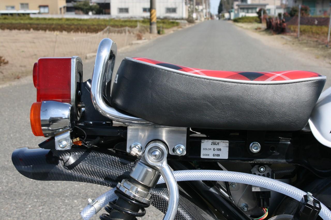 【G-Craft】5英吋座墊專用後扶手 - 「Webike-摩托百貨」