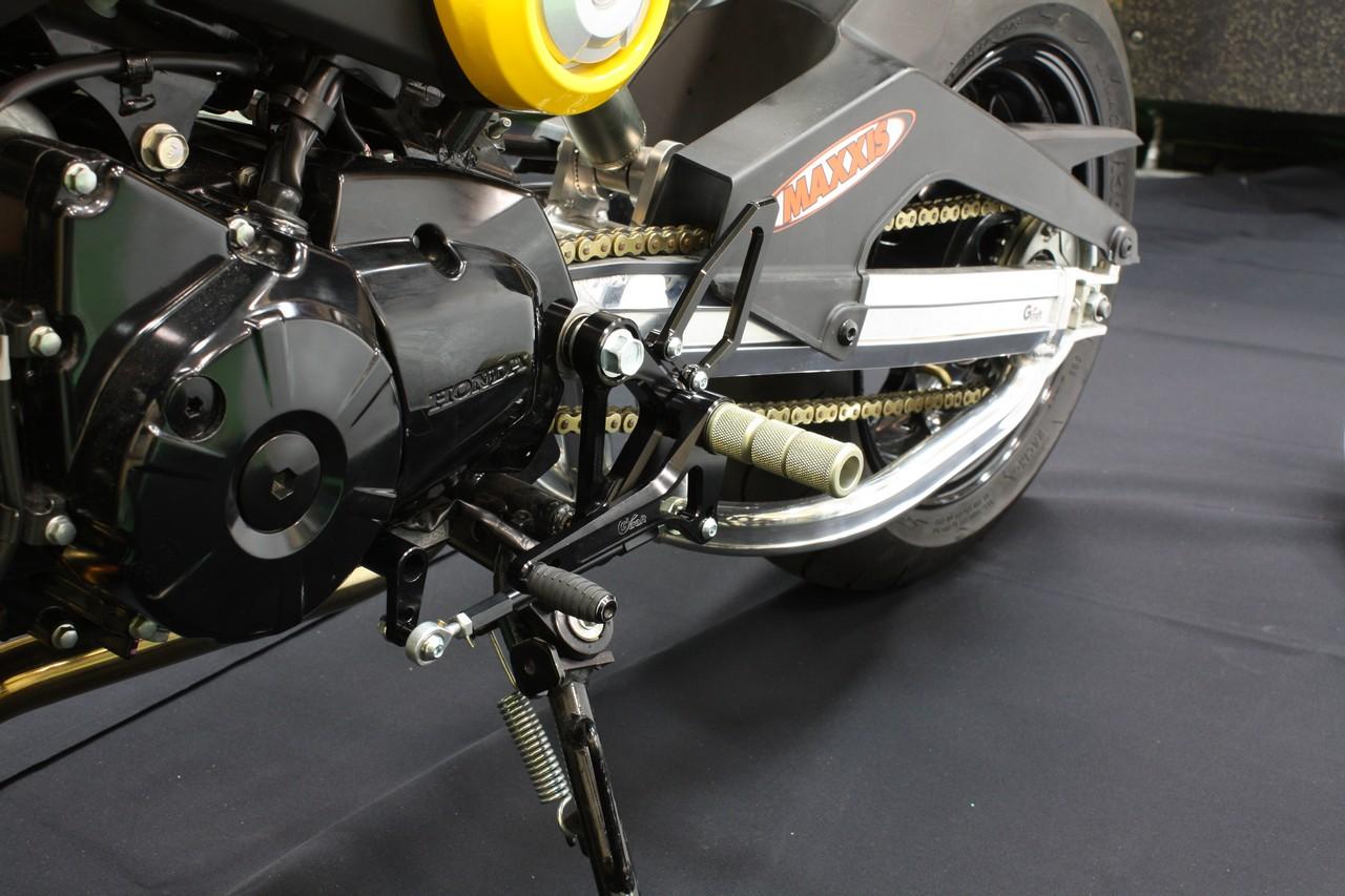 【G-Craft】GROM用腳踏後移套件 - 「Webike-摩托百貨」