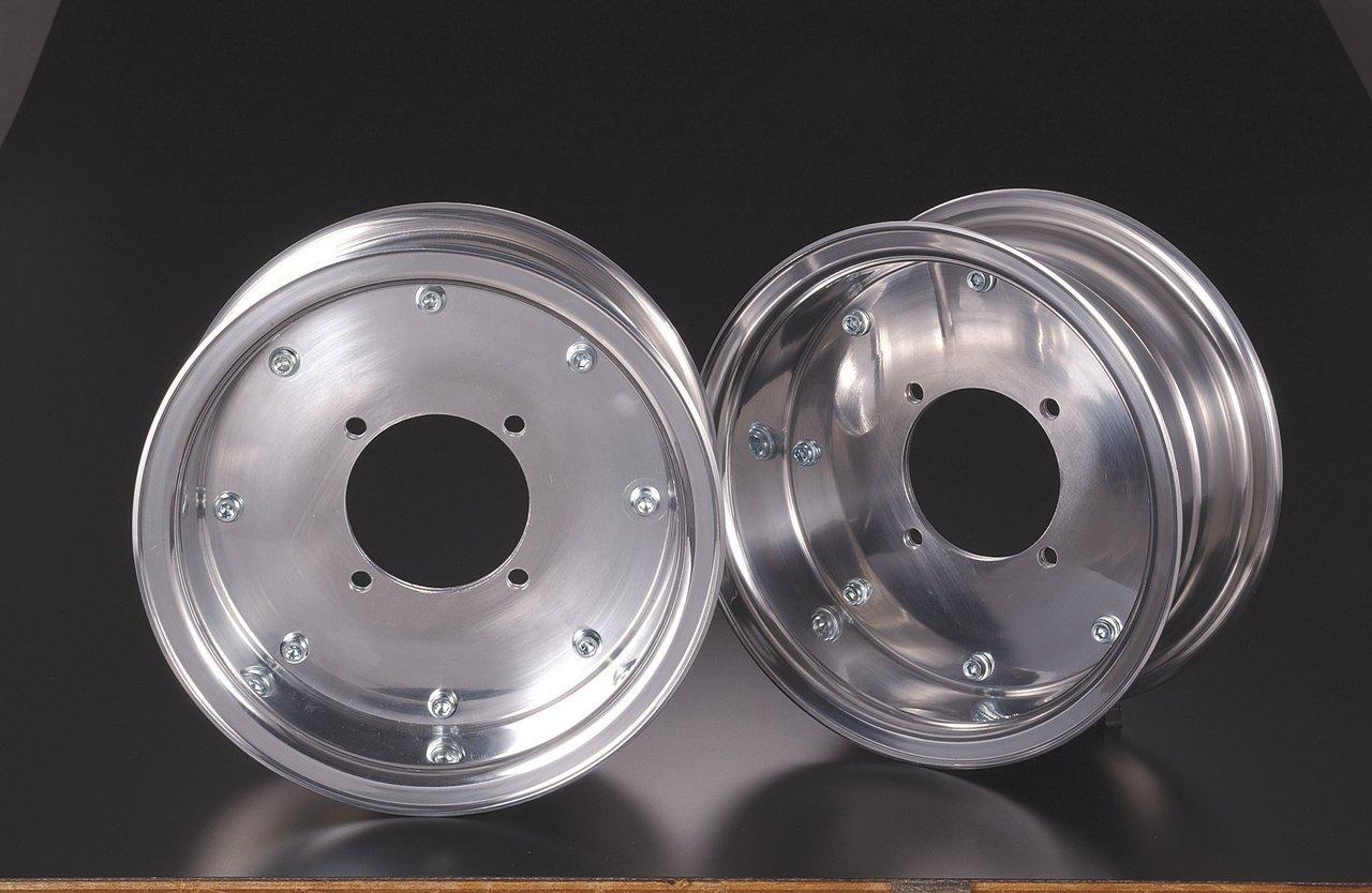 【G-Craft】3.5J 封閉型式 銀色8英吋寬版輪框 3.5J(無開孔) - 「Webike-摩托百貨」