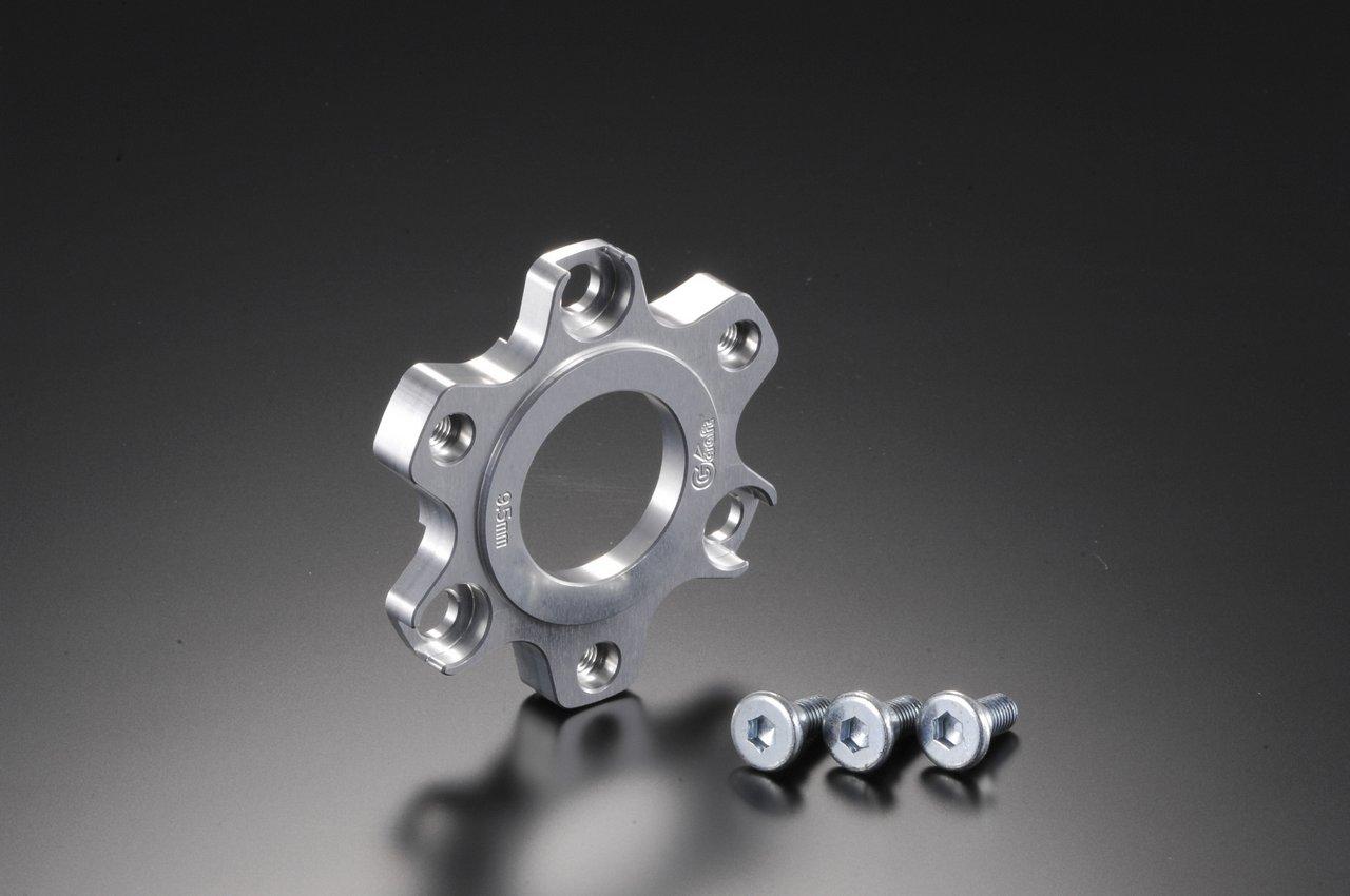 【G-Craft】煞車碟盤偏移墊片9.5mm (銀色陽極處理) - 「Webike-摩托百貨」