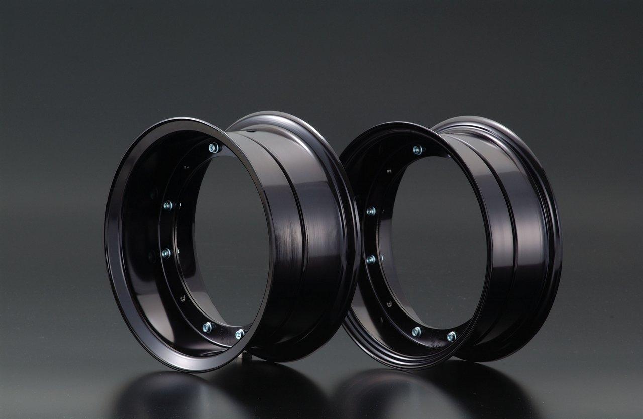 【G-Craft】4.0J 黑色 10英吋鋁合金輪框套件 4.0J - 「Webike-摩托百貨」