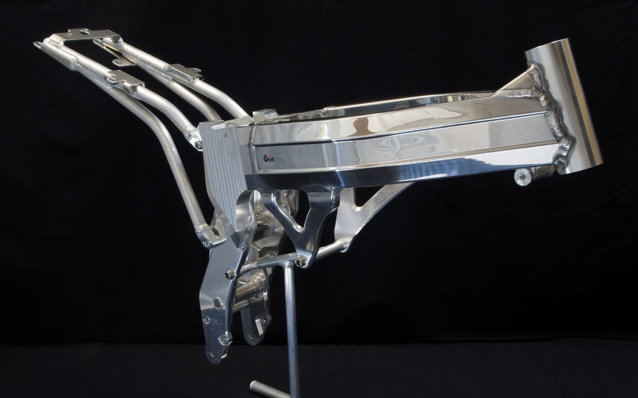 GC-021 Aluminum Twin Spar Frame