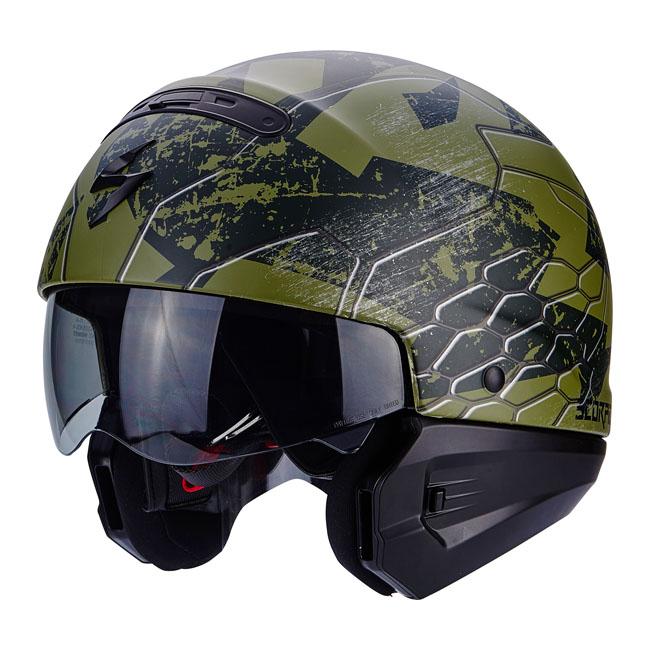 【Scorpion helmet】EXO-COMBAT 全罩安全帽 迷彩黑 - 「Webike-摩托百貨」