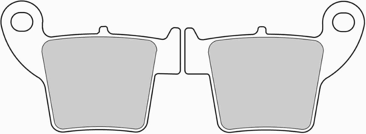 【FERODO】ECO Friction 煞車來令片 - 「Webike-摩托百貨」