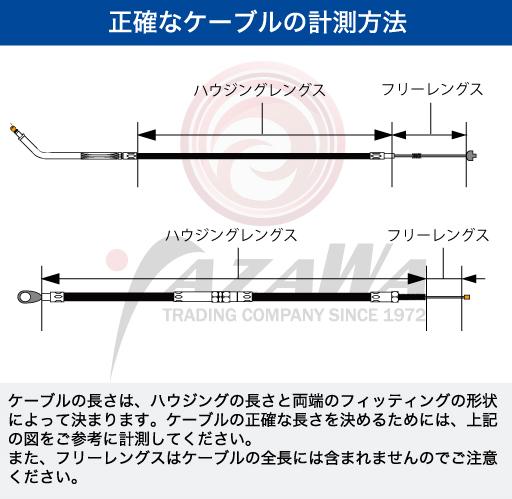 MotionPro モーションプロ:フロントブレーキライン 149.5cm