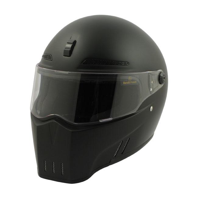 【Bandit Helmet】ALIEN II 全罩安全帽 消光黑 - 「Webike-摩托百貨」